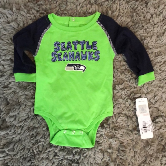 promo code 32bf8 3a477 NFL SEATTLE SEAHAWKS baby onesie NWT